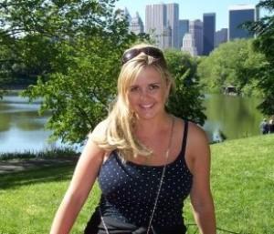 blonde central park